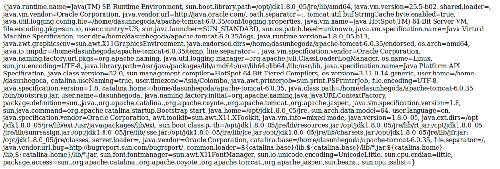 Output - PHP/Java Bridge