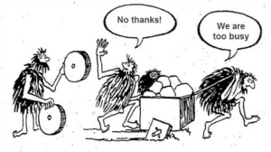 don't reinvent the wheel in software architecture